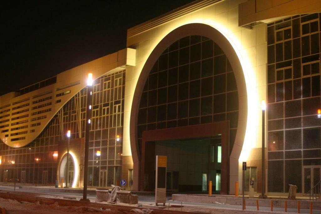 Gebäudeillumination in Qatar