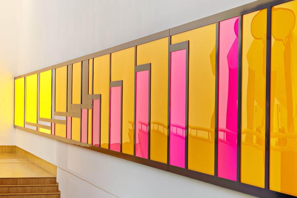 Lichtinstallation Tobias Rehberger