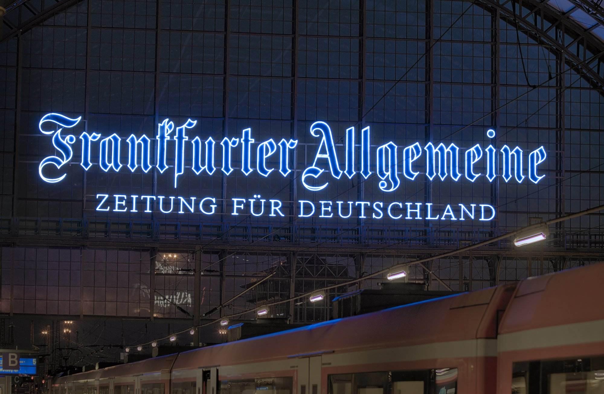 Frankfurter Allgemeine Neon